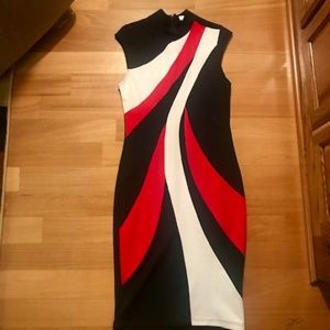 Bodycon Midi Venus Dress- Size 10-Never Worn